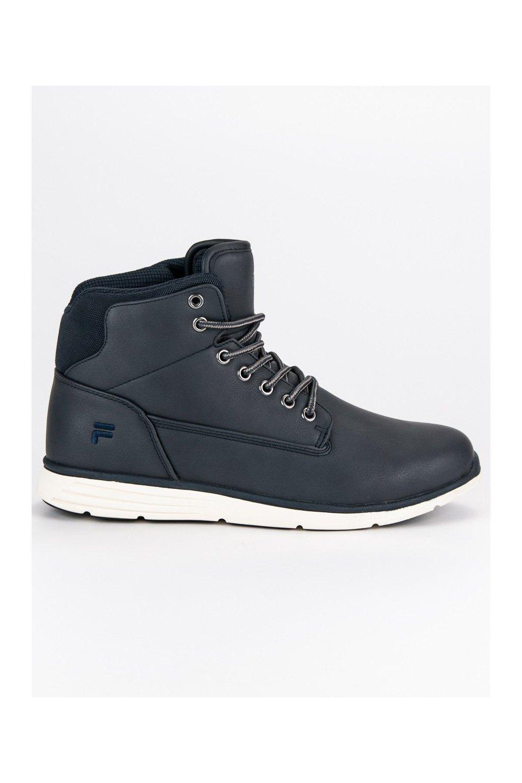 Pánske členkové topánky FILA LANCE MID modré  fb321ef5ec