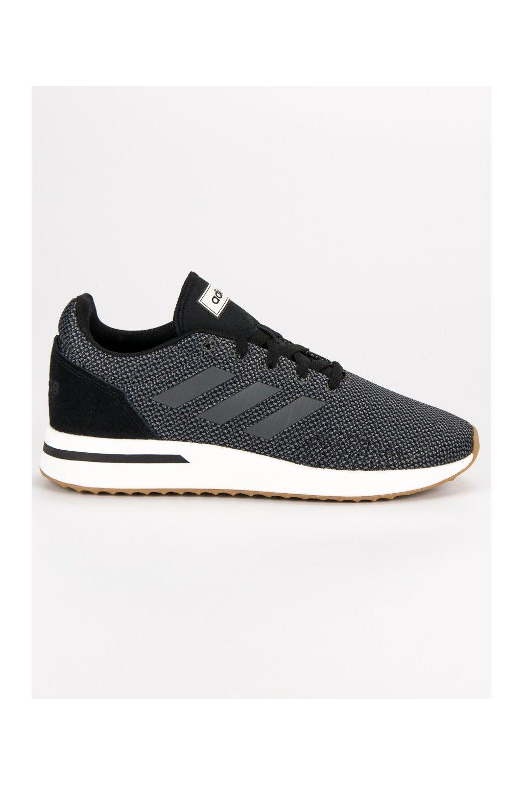 Sivé pánske športové topánky - Adidas B96558