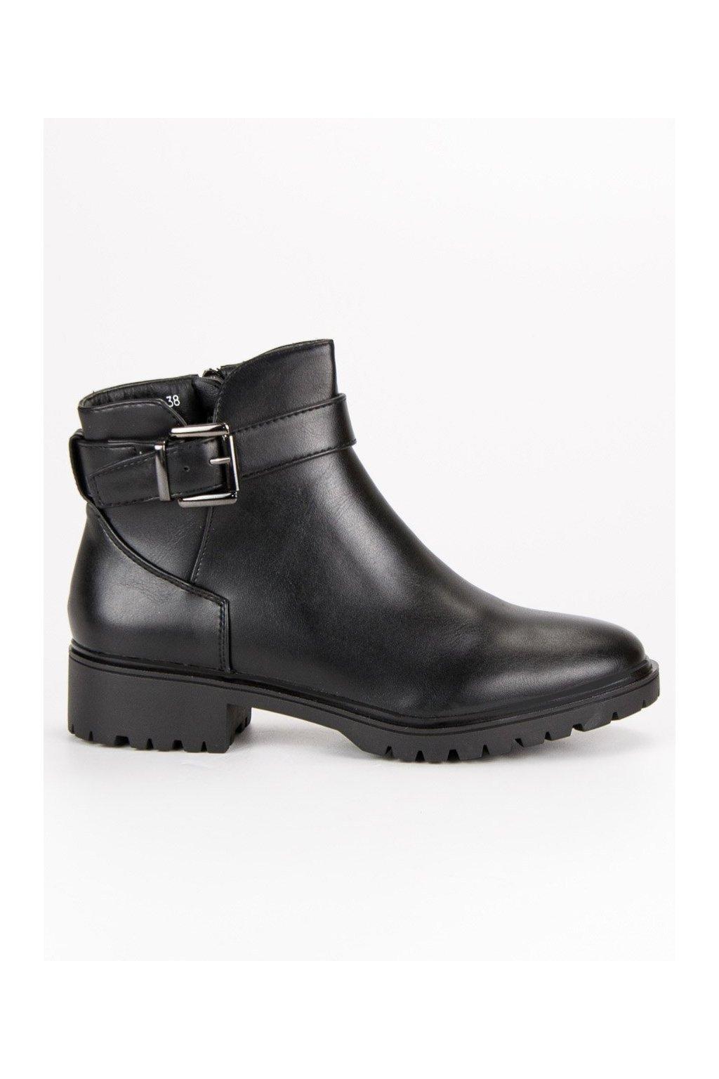 3f888685862e Čierne topánky s mašľou SDS