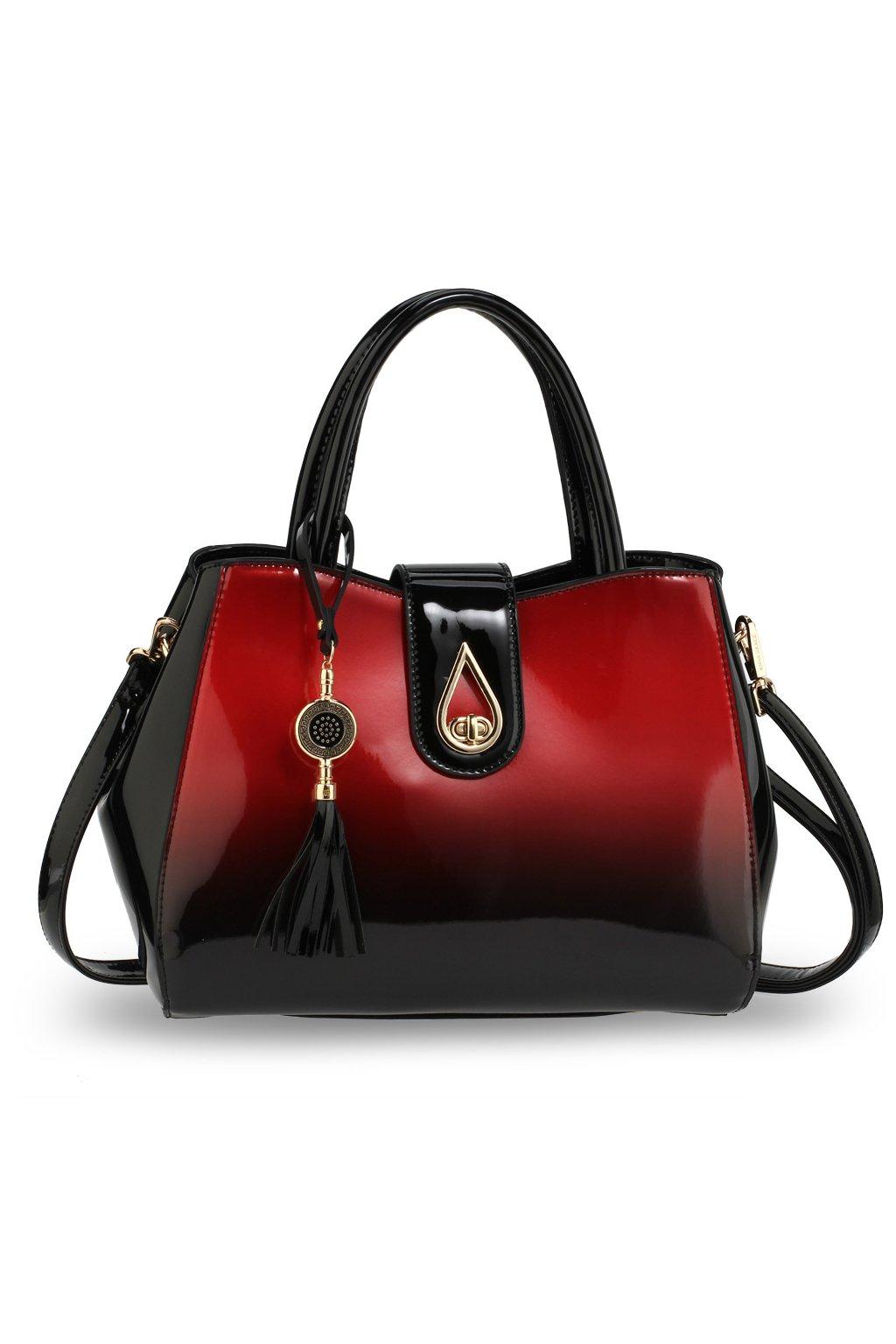 Trendy kabelka do ruky Lilliana červená AG00650 d9ca670dde8