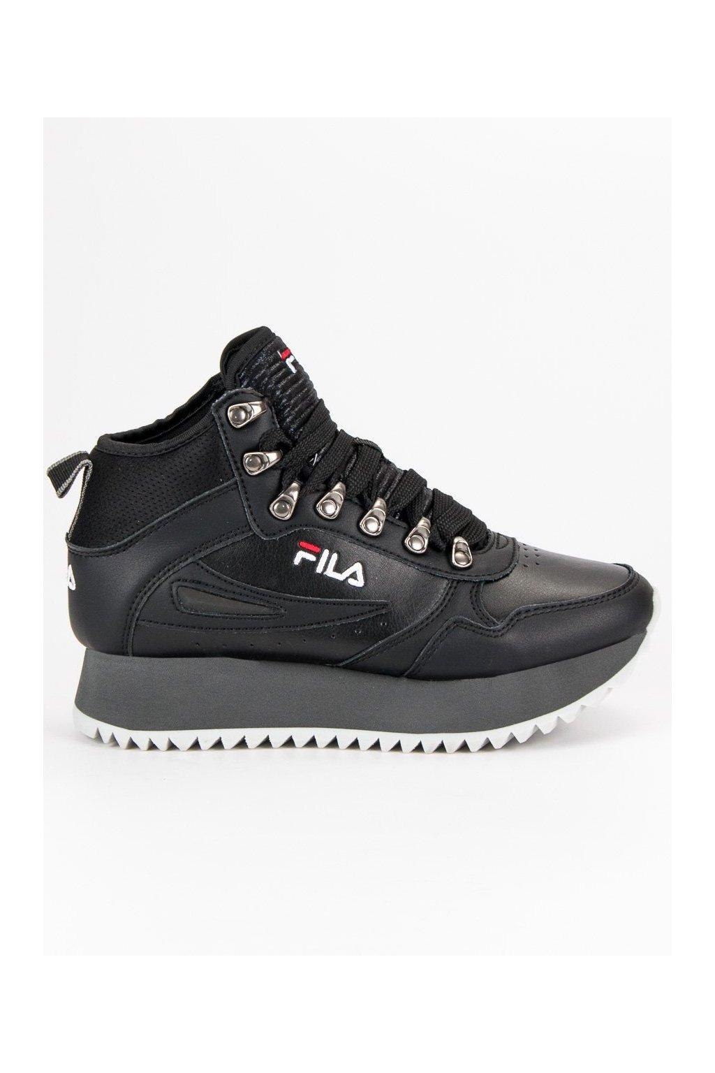 Dámske kožené topánky FILA ORBIT ZEPPA RIPPLE čierna d4bd0d60b8e