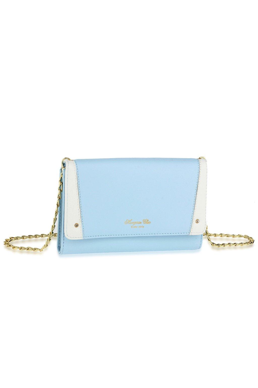 Crossbody modrá kabelka Krystal AG00640
