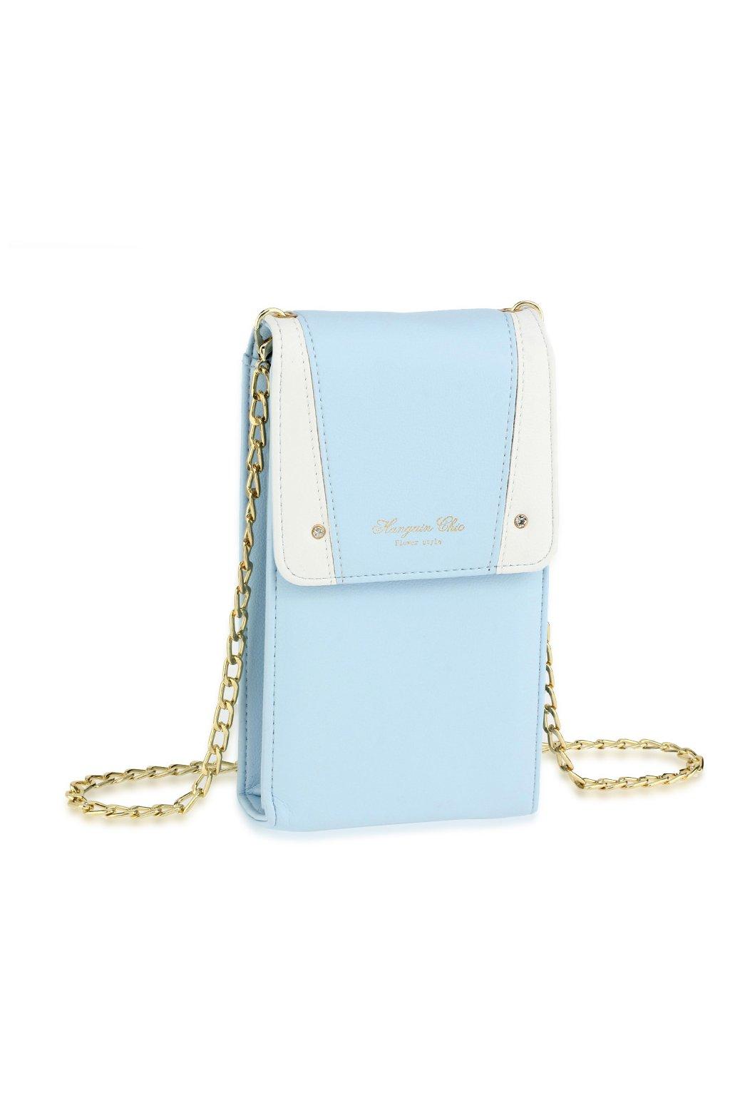 Crossbody modrá flap kabelka Chaya AG00638