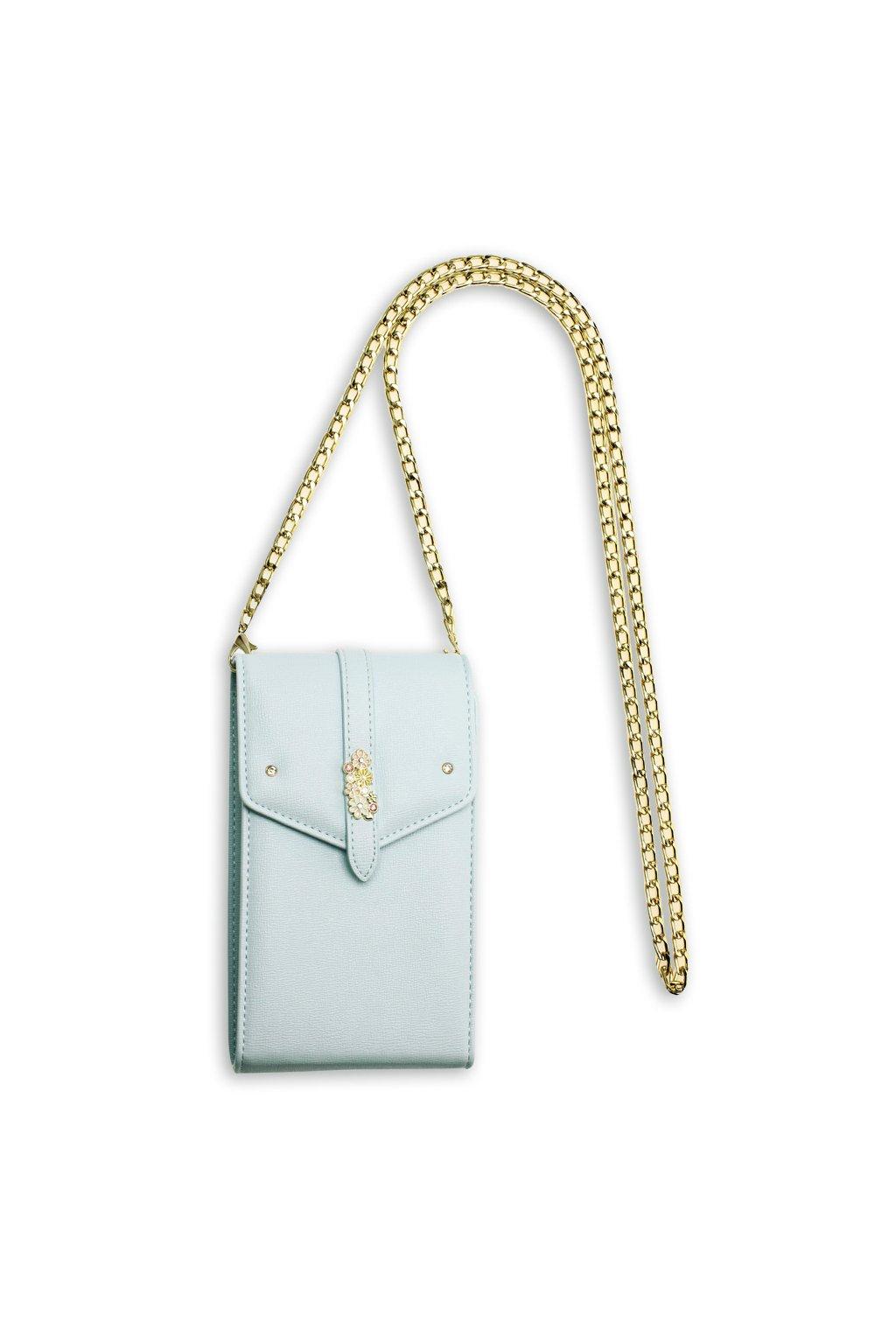 Crossbody modrá kabelka Kimberly AG00636