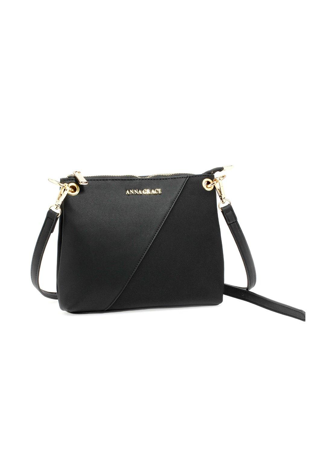 Crossbody kabelka čierna Evie AG00616