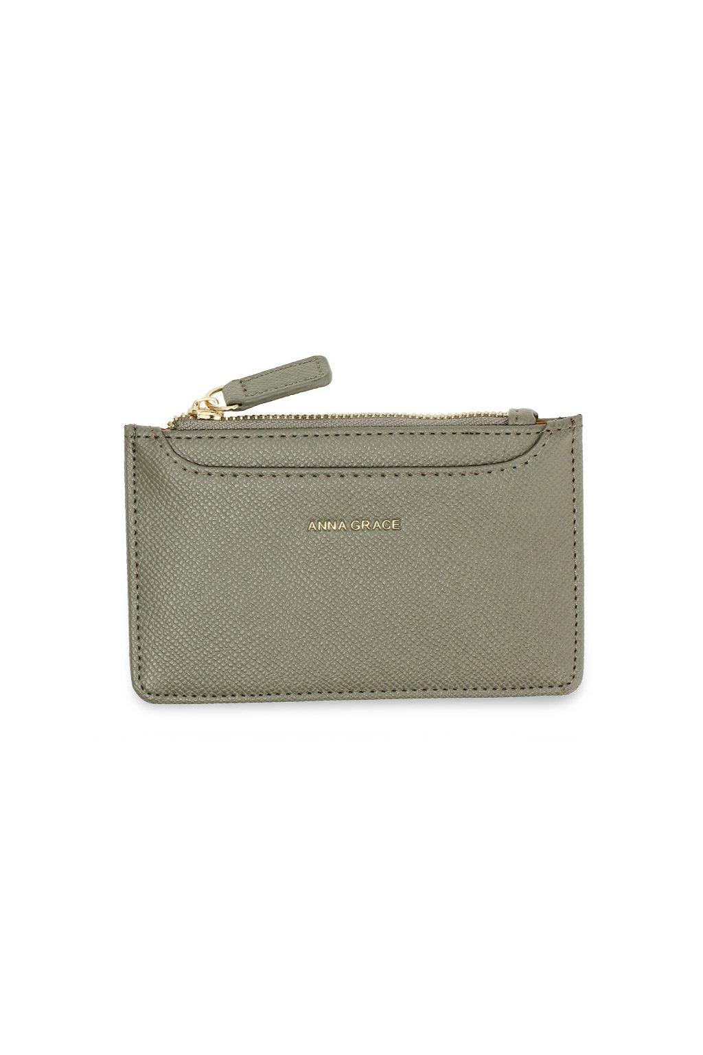 Sivá peňaženka pre ženy Coin Puch AGP1109