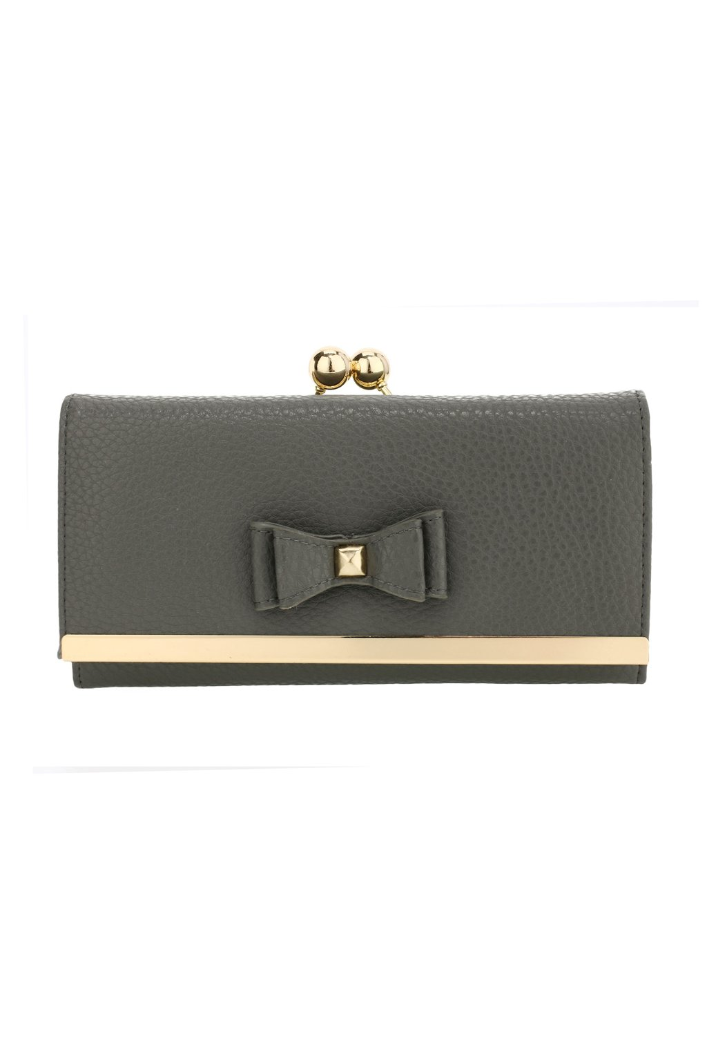 Sivá peňaženka pre ženy Alice AGP1077