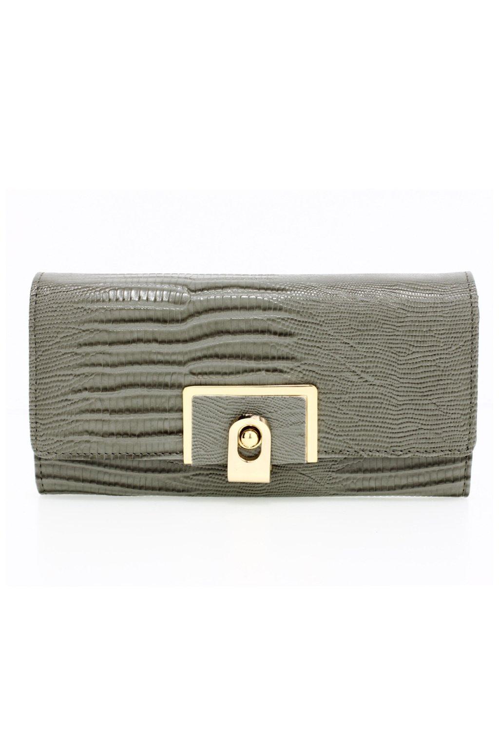 Sivá peňaženka pre ženy Tiara AGP1092