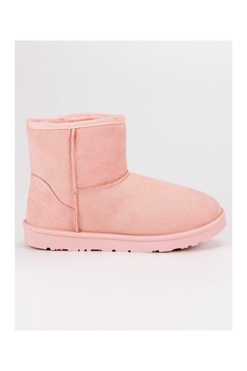 Ružové snehule semišové VICES