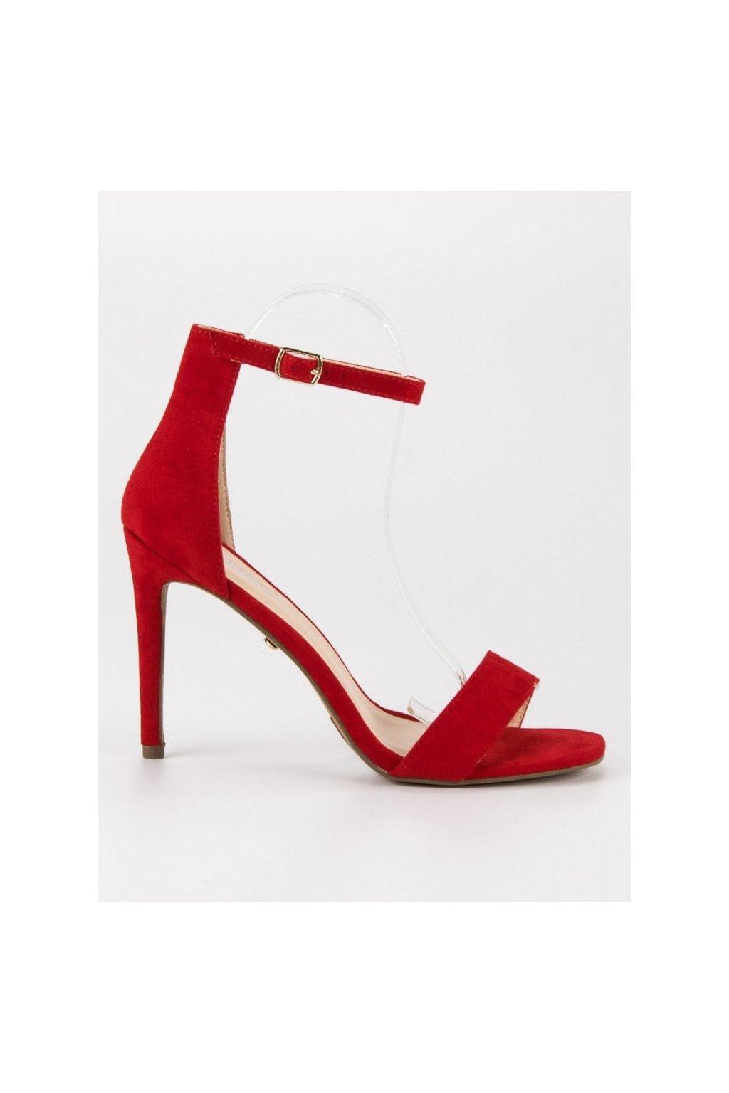 semisove sandale na podpatku sy31r (2)