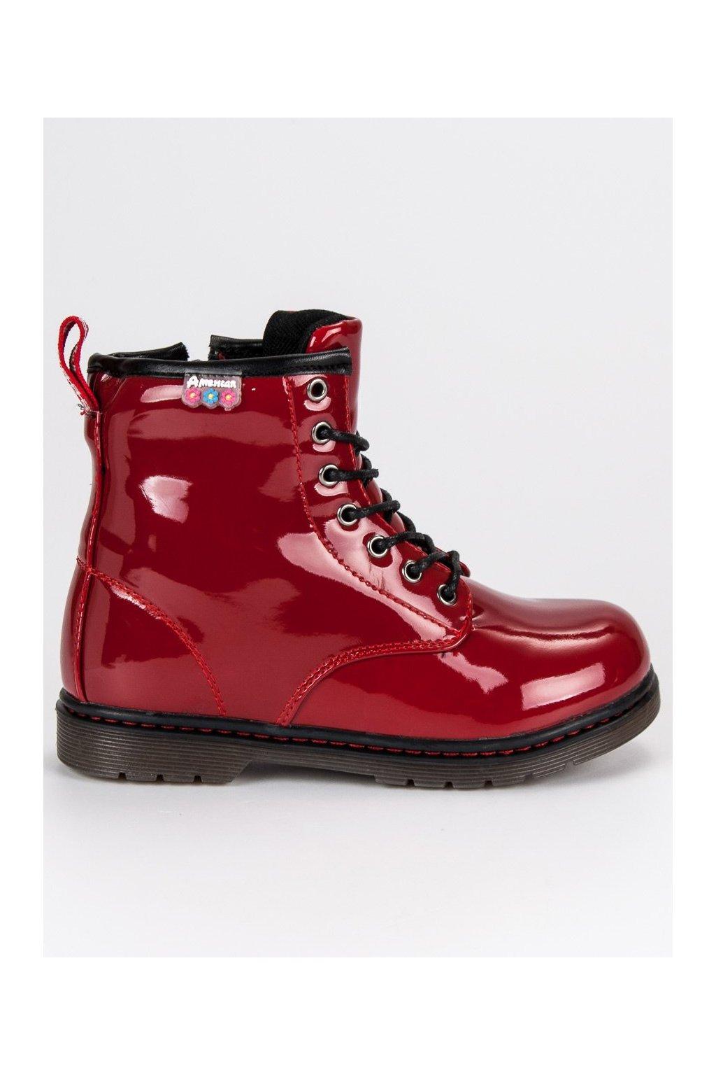 Lakované detské topánky American Club 6434c96bae7