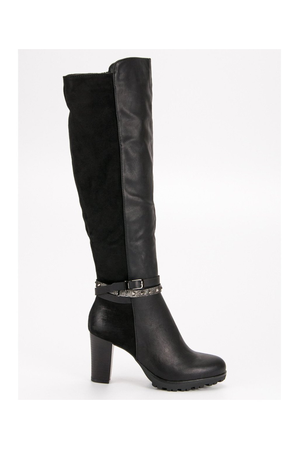 bb77010d7a6b7 Čierne zimné topánky | NAJ.SK