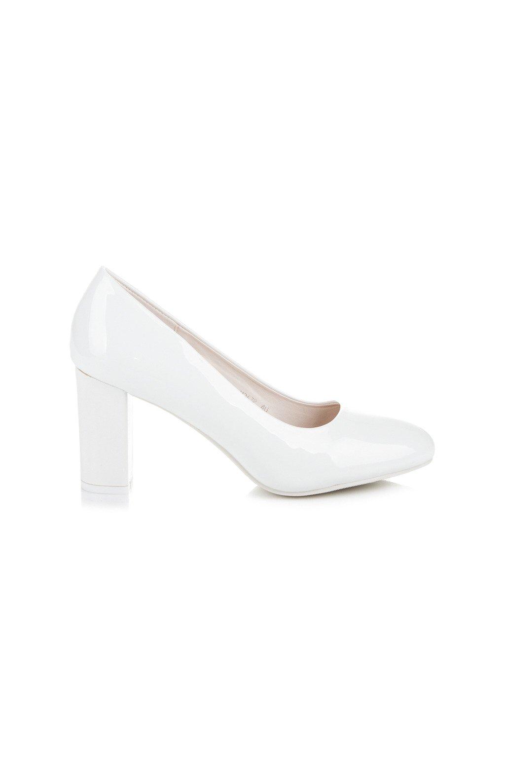 Elegantné biele lodičky Seastar 6779a375b1f
