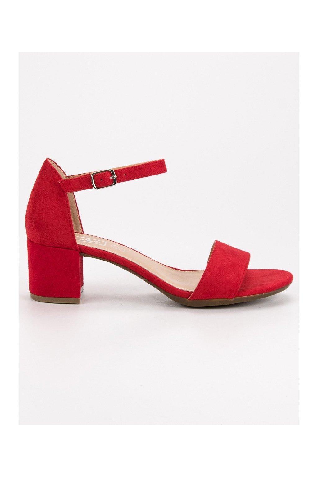 a6520892f838 Červené topánky veľkosť 36