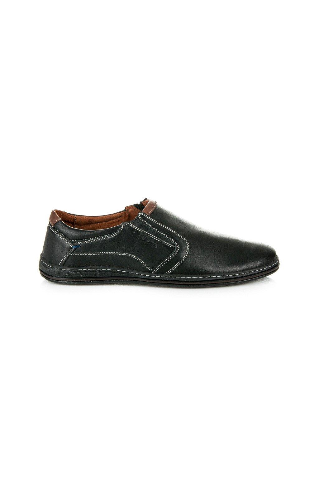Pánske kožené topánky mokasíny Lucca c8ec2ee8d76