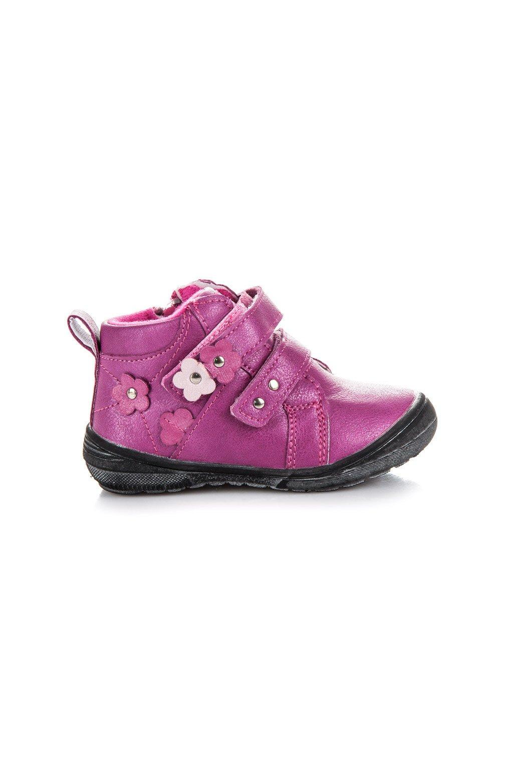 Detské ružové topánky American Club 48fb7987119