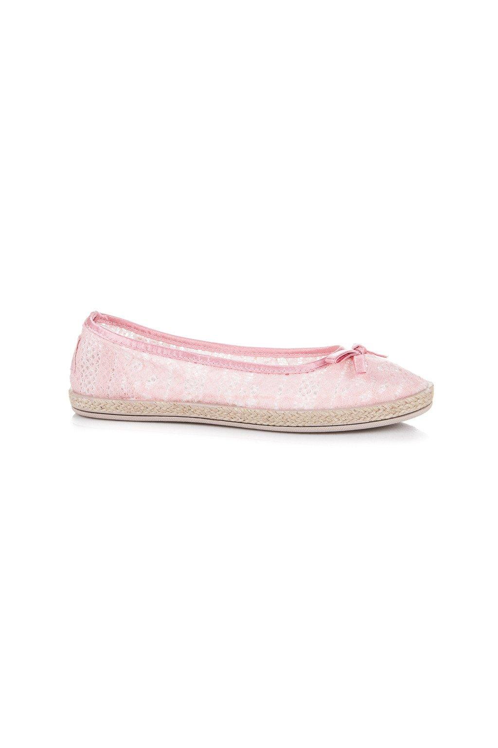 Ružové dámske baleríny - Balada B786-20P