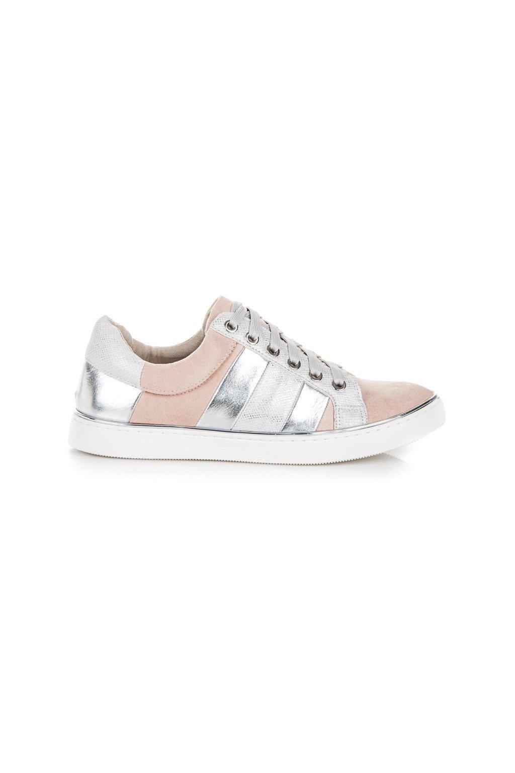 Ružové tenisky fashion Kylie