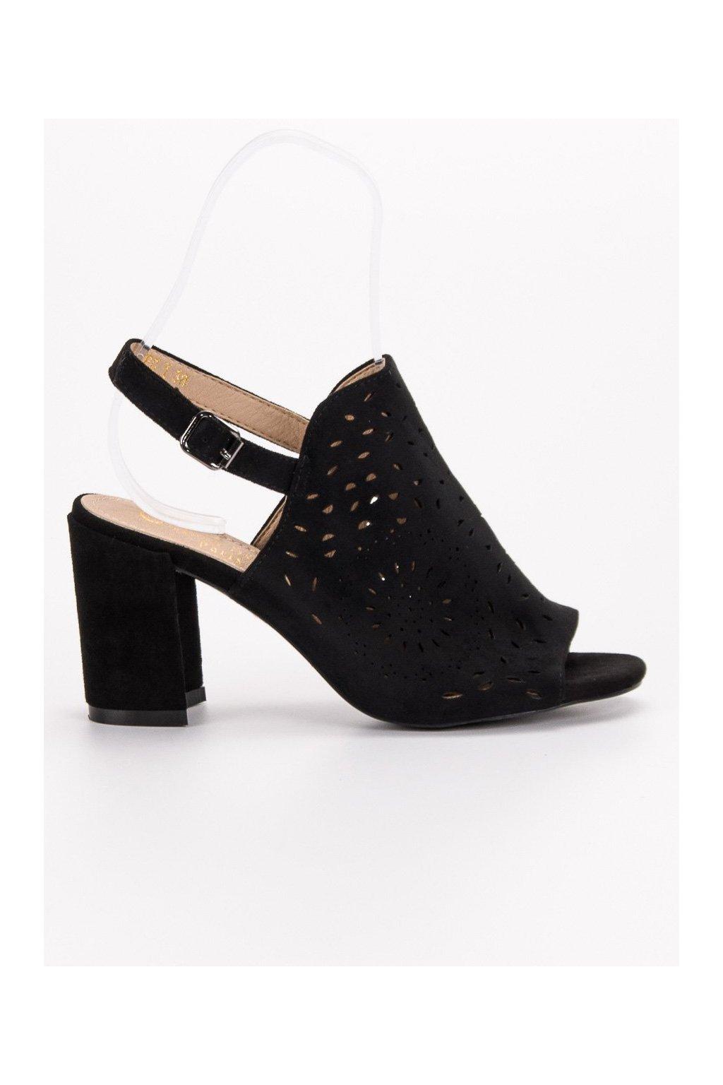 61a7bb711fe8 Sandále na nízkom podpätku