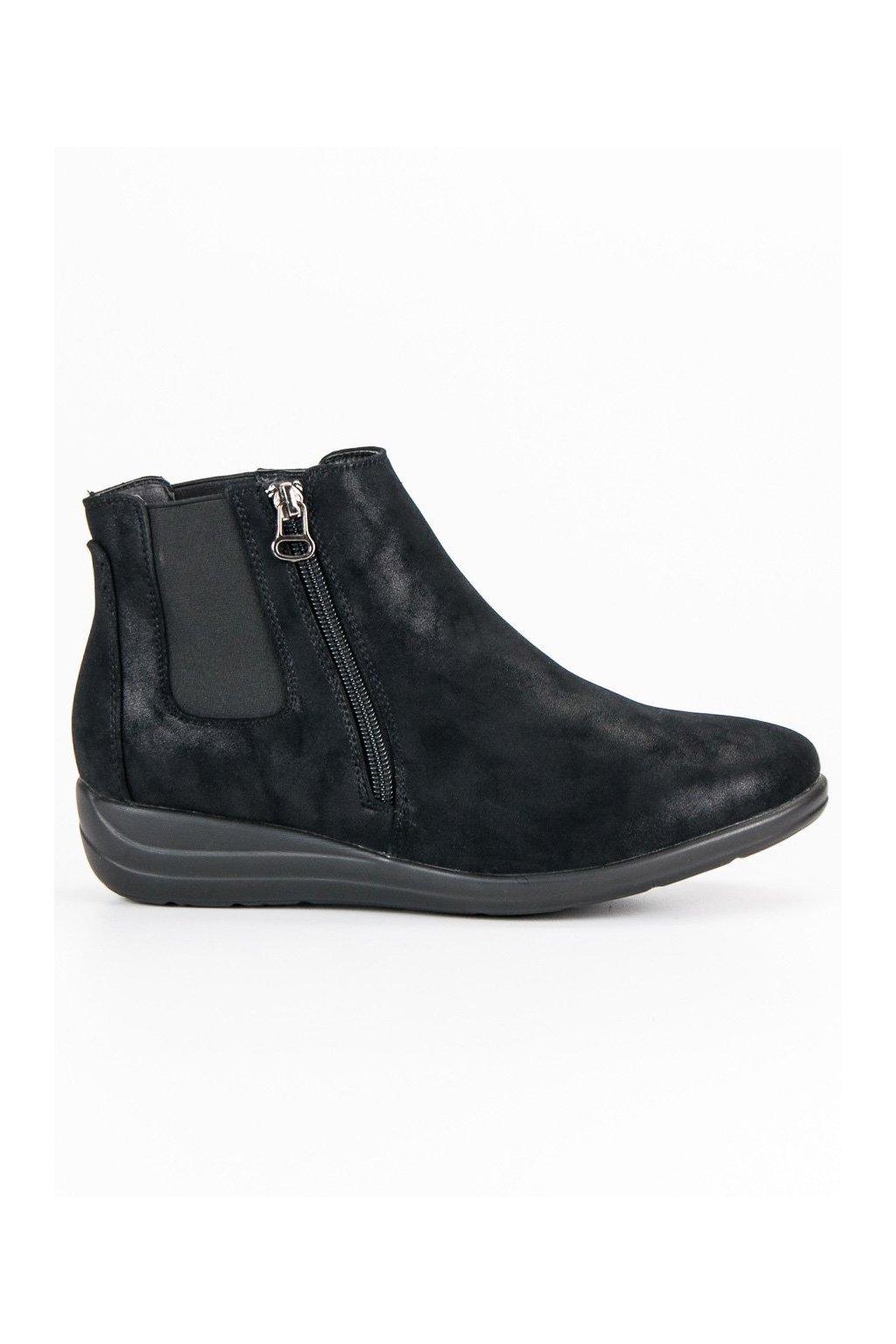 066faf3b4ca1 Dámske čierne topánky Kylie K1837204NE