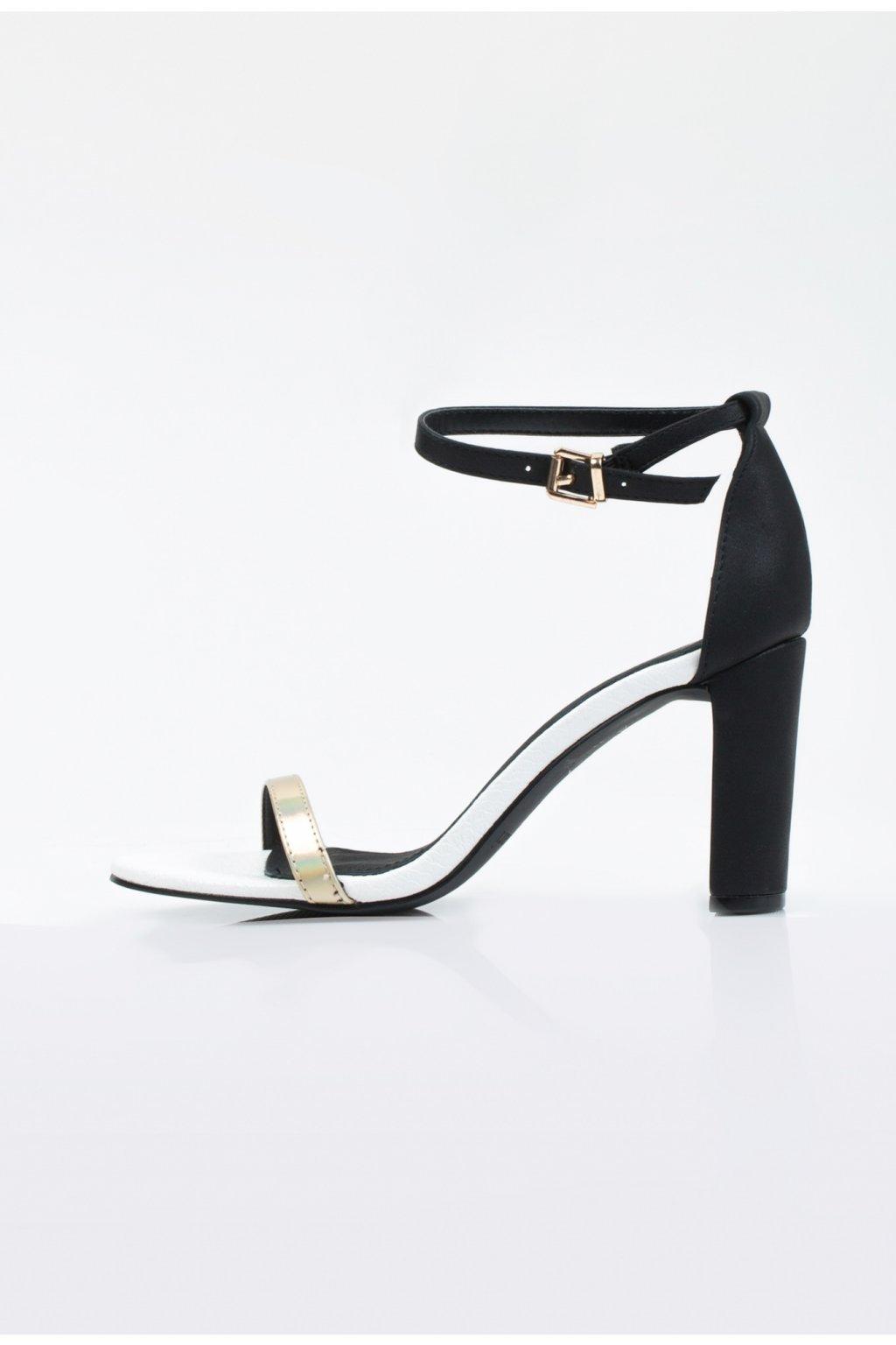 sandale monnari cierne