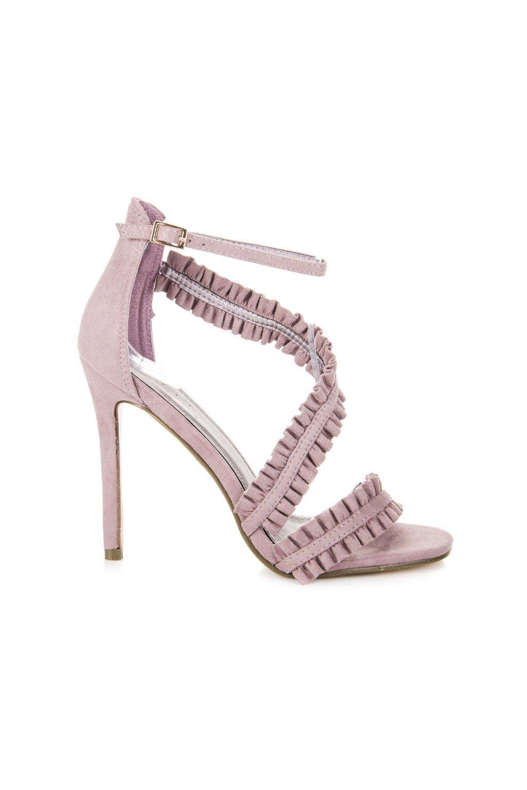 Fialové topánky na ihlovom podpätku Seastar kod LE045PU