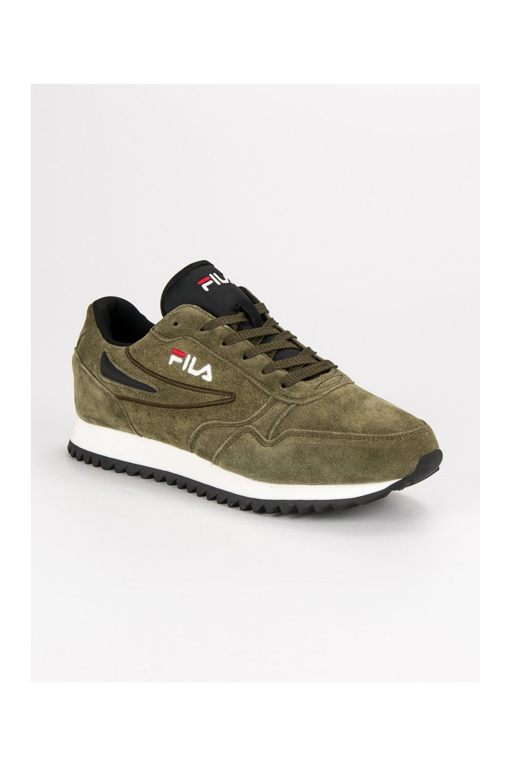 Zelené pánske športové topánky - Fila kod 101041350K-OL