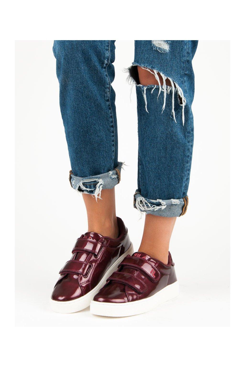 Červené topánky Fila kod 1010471-40K-MA
