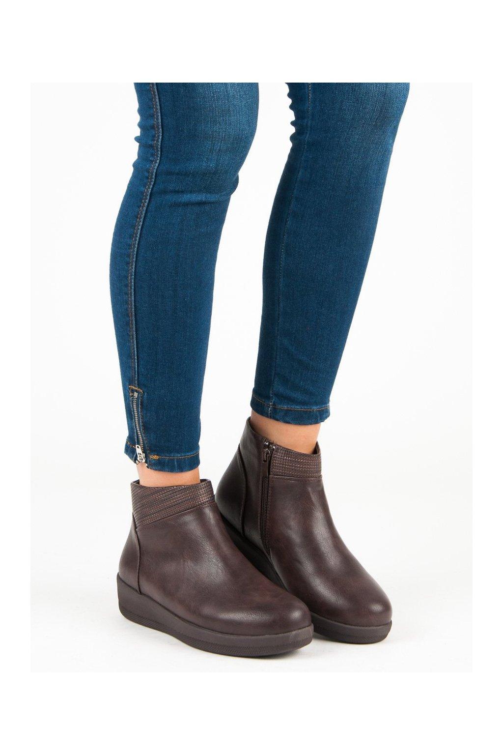 Červené dámske topánky Kylie kod K1822511MAR