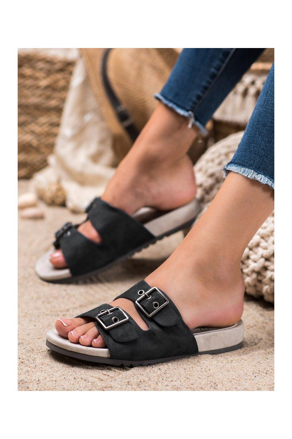 Čierne topánky Kylie kod K1904106NE
