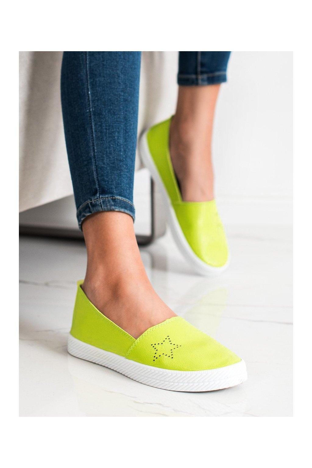 Zelené tenisky Kylie kod K1832303LIM