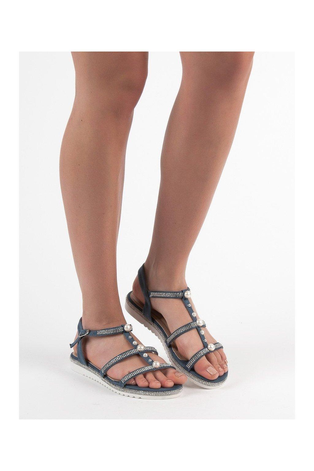 Modré sandále - Guapissima kod H88-7AZ