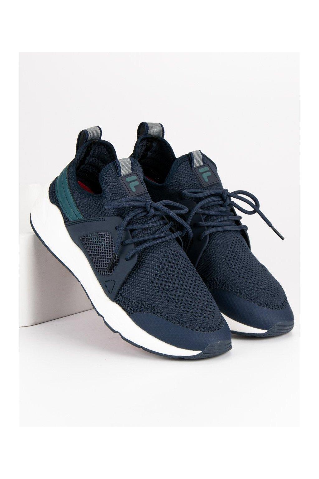 Modré pánske športové topánky - Fila kod 1010507BL