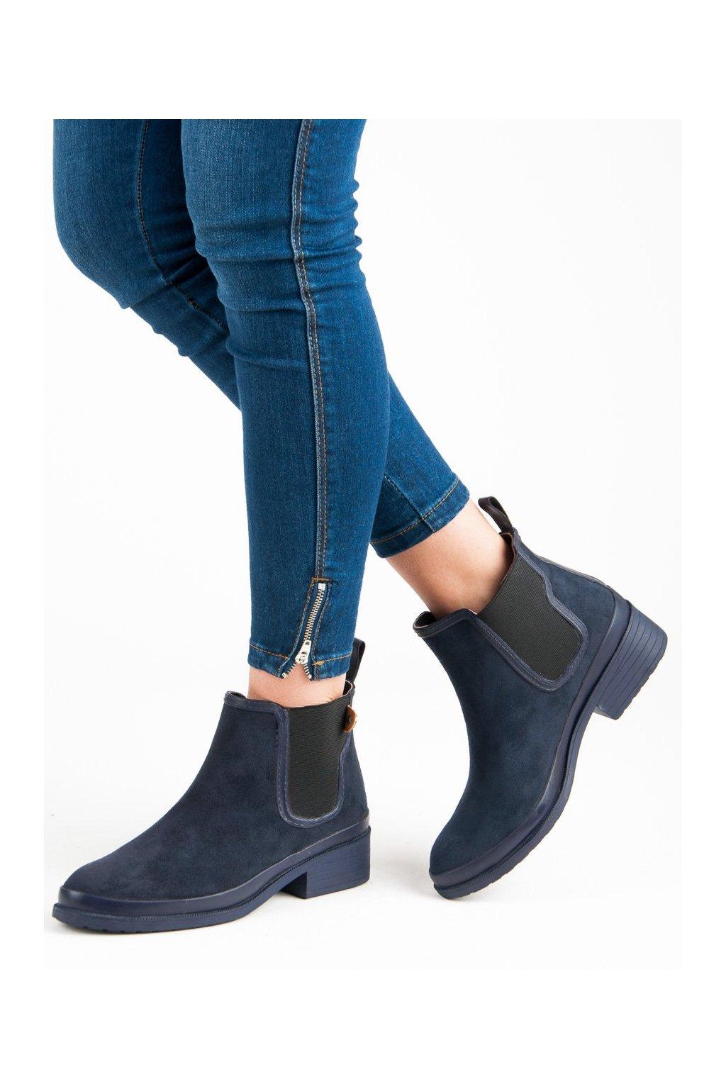 Modré dámske topánky Kylie kod K1871201MAR