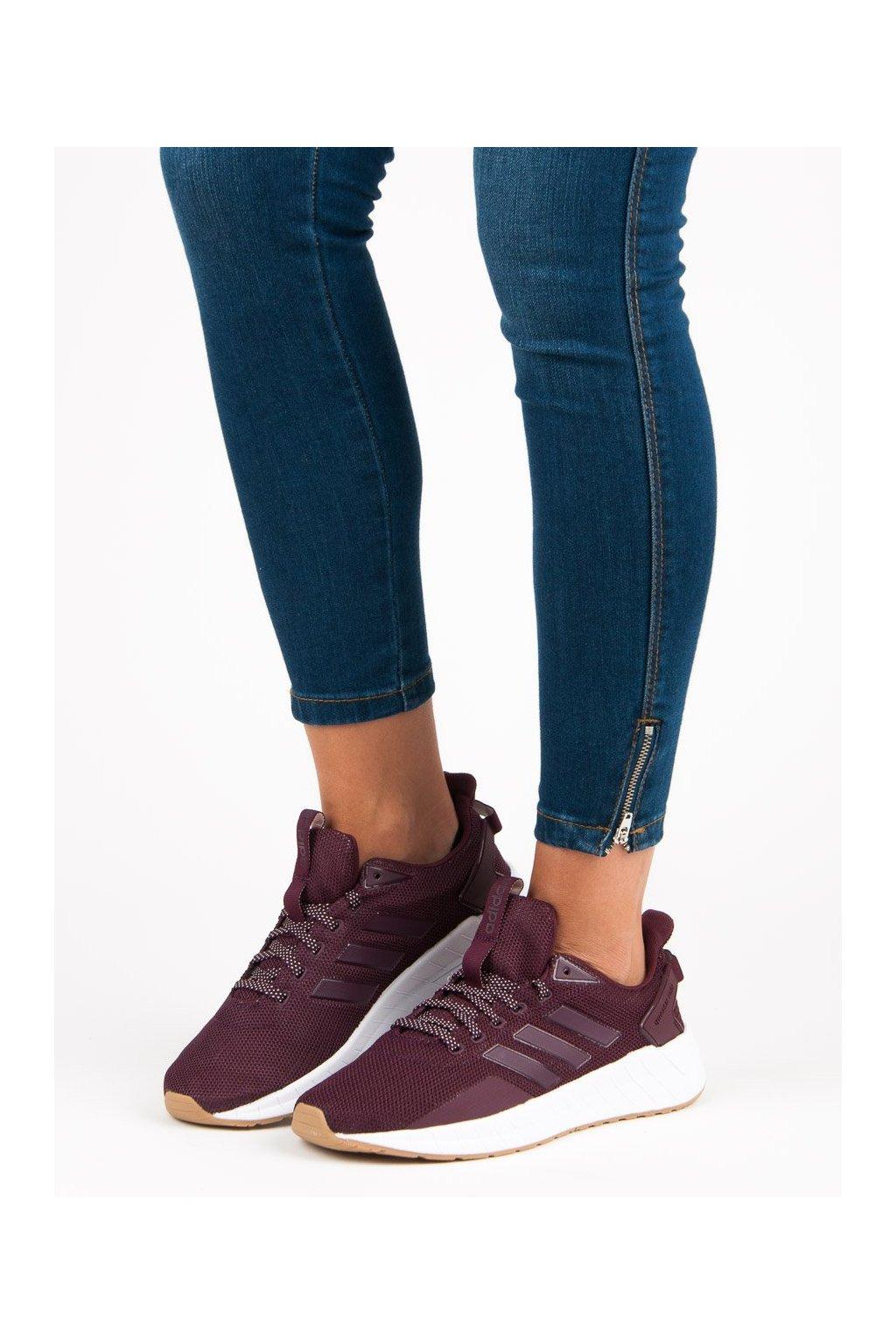 Červené tenisky - Adidas kod B44830
