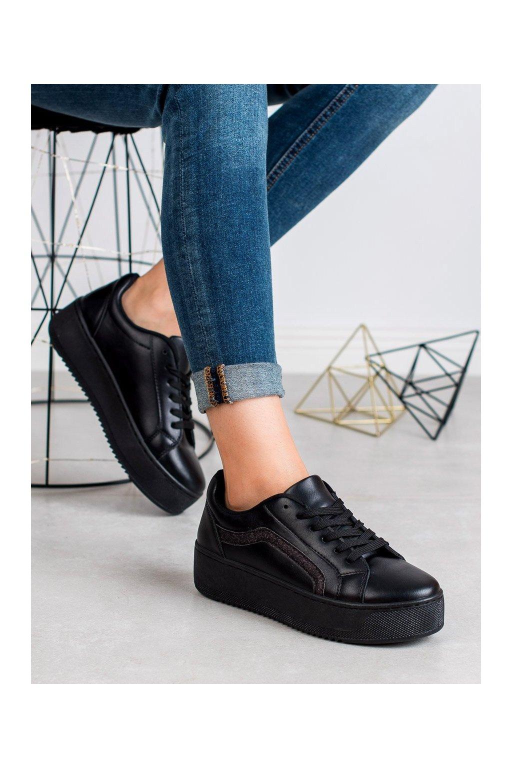 Čierne topánky - Shelovet kod 798B