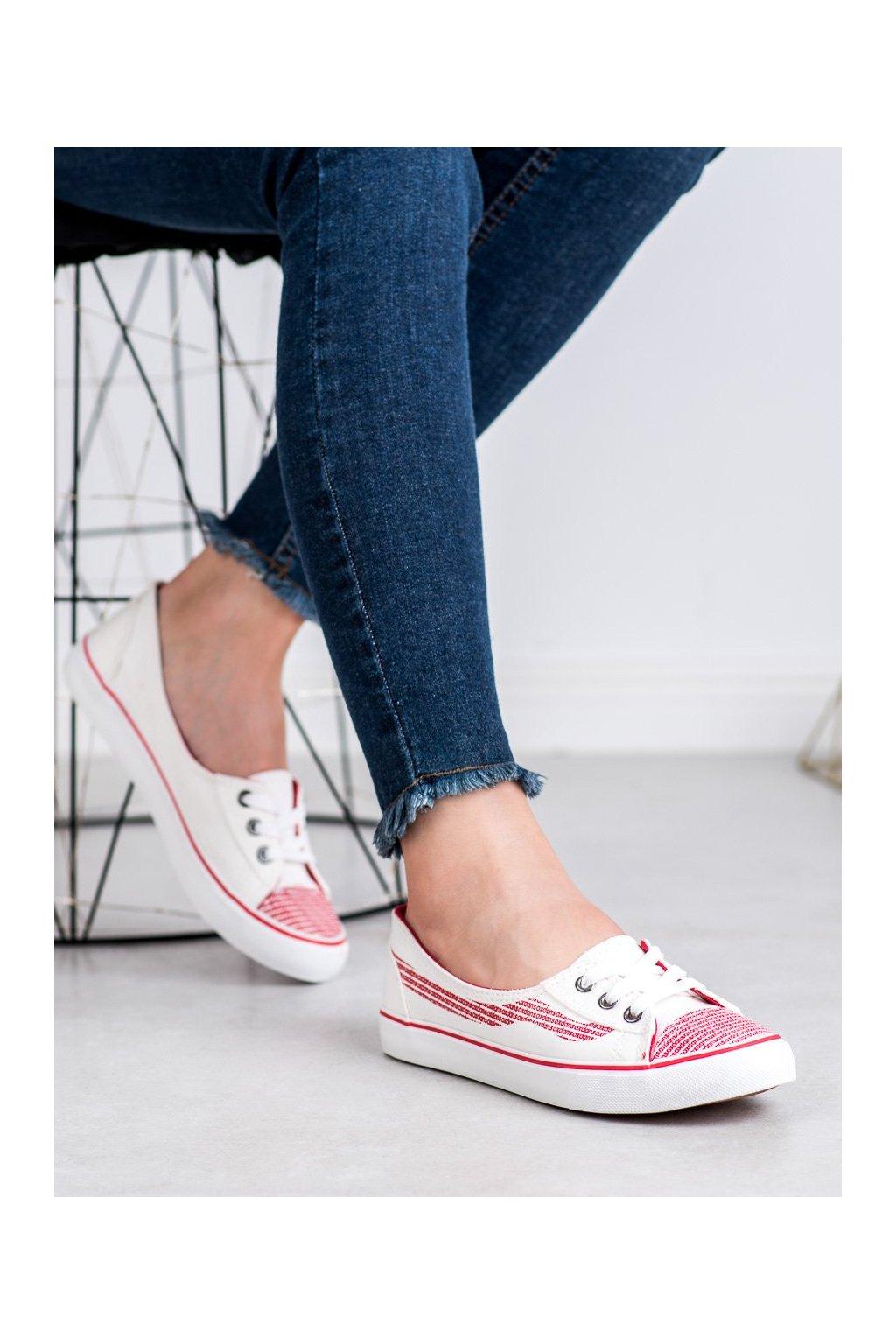 Biele topánky J. star kod S18-F-LD8A09W