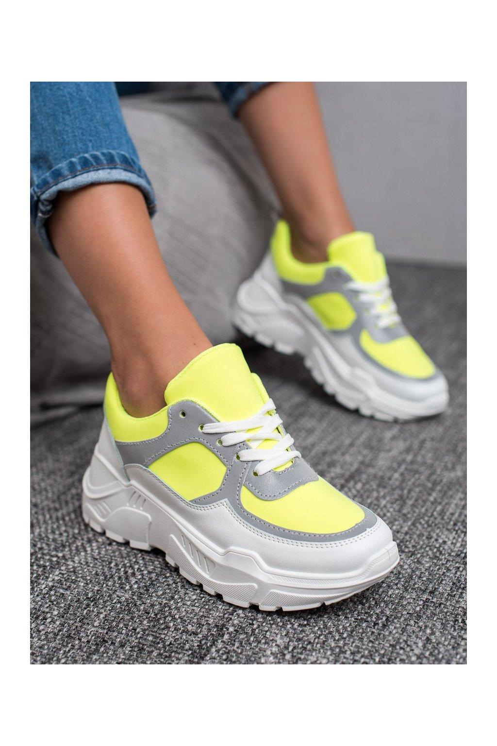 Žlté tenisky - Ideal shoes kod RB-3310GR