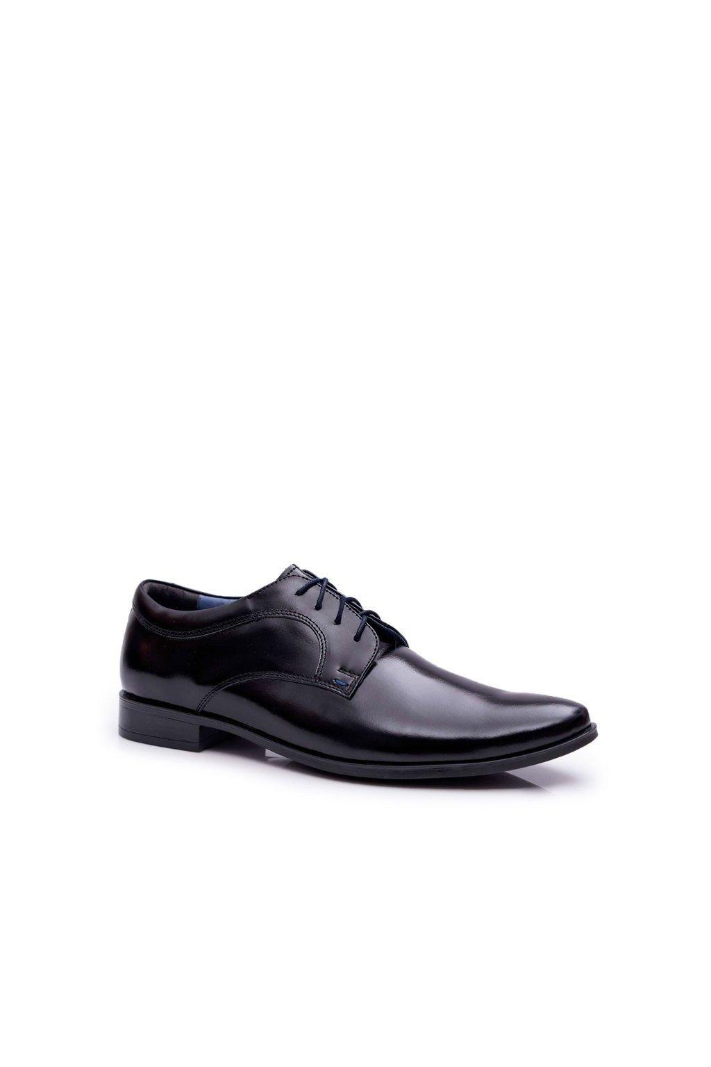 Pánske poltopánky farba čierna kód obuvi 343 TOSCA BLK
