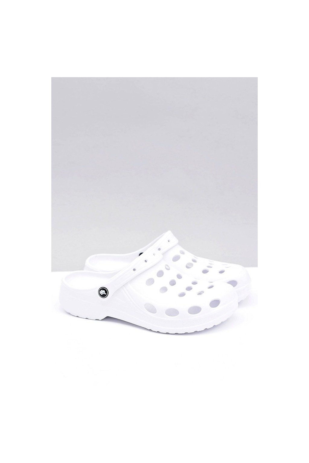 Pánske šľapky farba biela kód obuvi A-001 WHITE