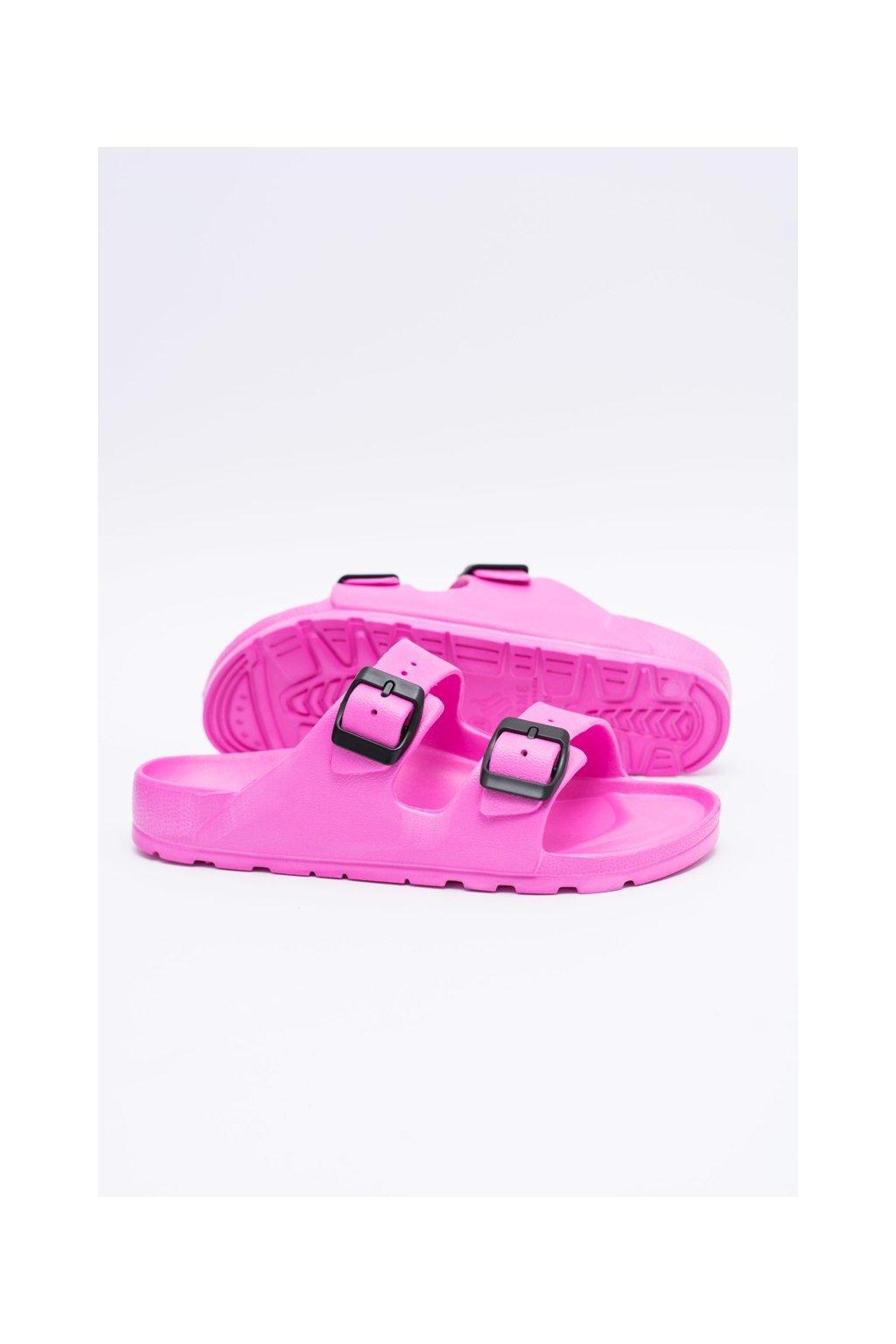 Dámske šľapky farba ružová kód obuvi B-2015 PINK