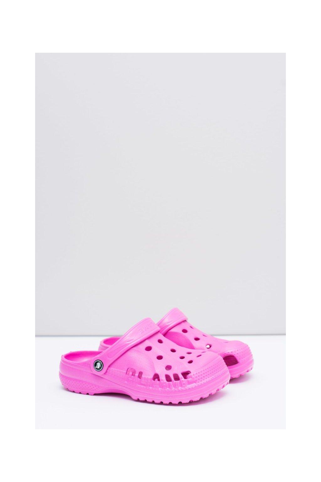 Dievčenské a chlapčenské šľapky kroksy EVA ružové