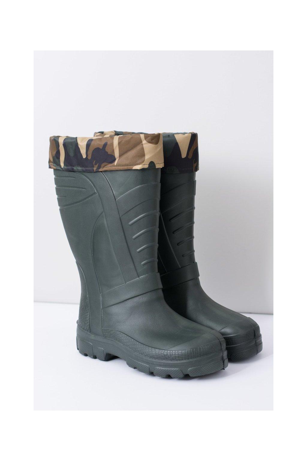 Dažďové topánky pre ženy teplé čierne daždivé