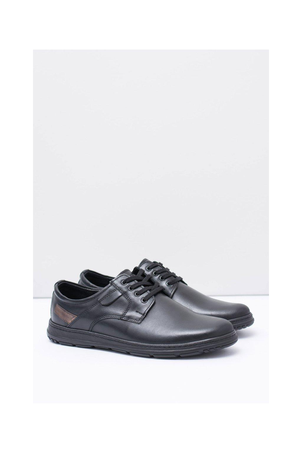 Hnedé pánske topánky Manifesto