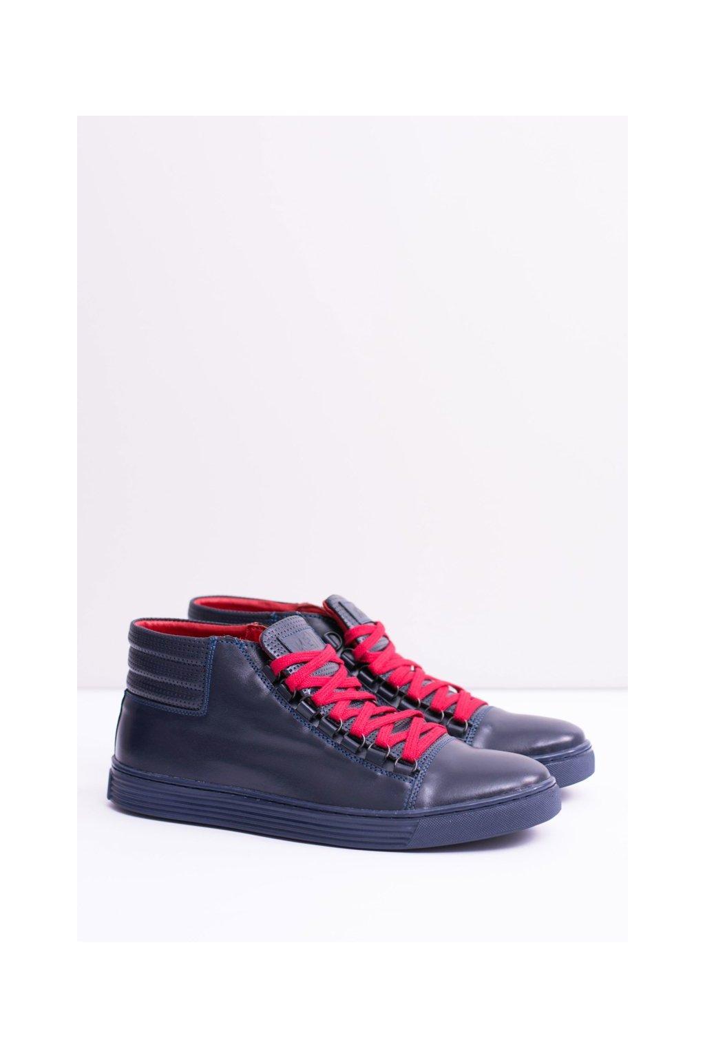 Modrá obuv kód topánok 304 NAVY