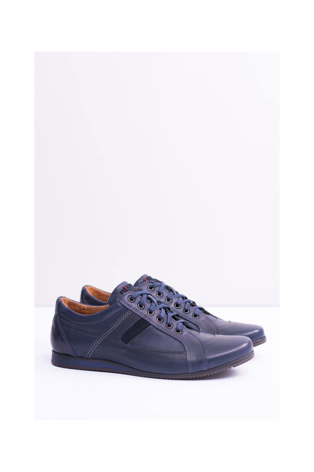 Kožené pánske športová poltopánky topánky Sferis