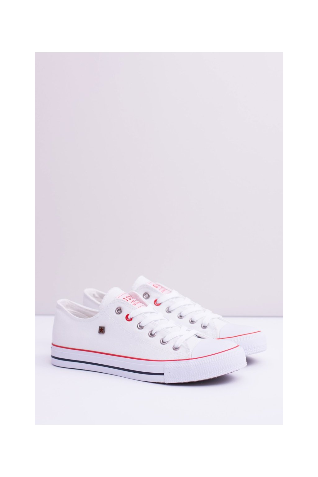 Biela obuv kód topánok T174102 WHITE