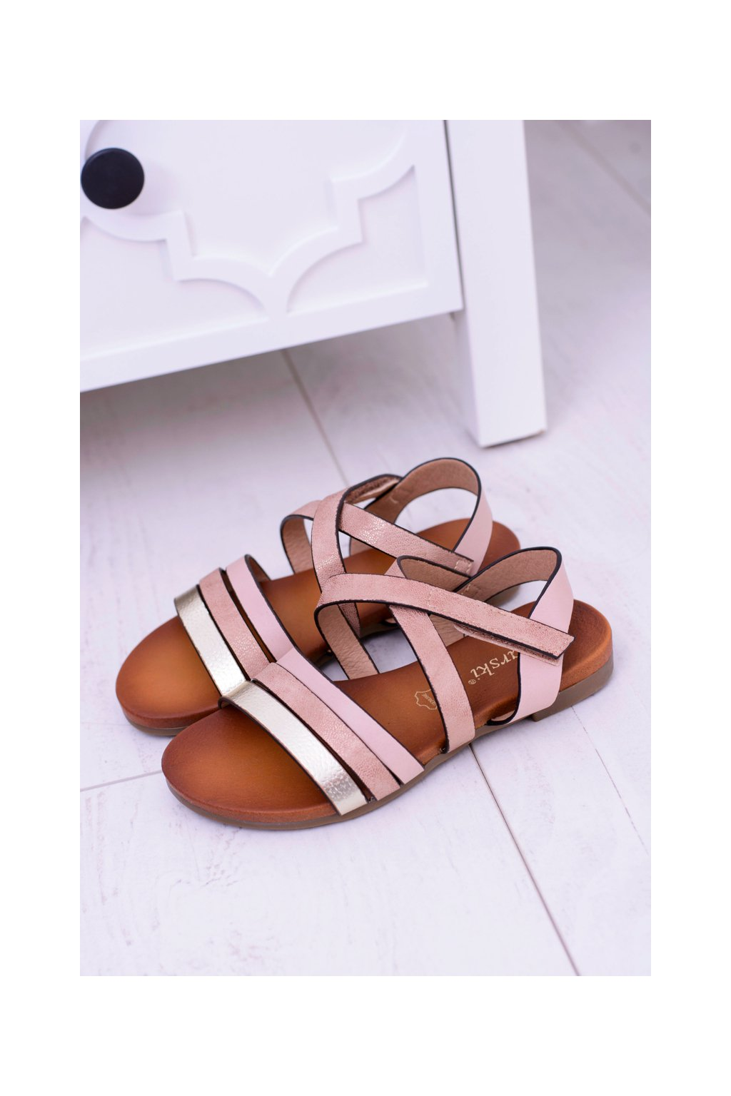 Detské sandále na suchý zips LittleReneto