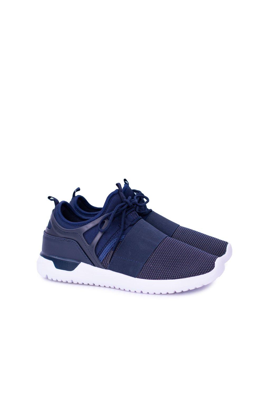 Pánske tmavo modré športové topánky Roveo