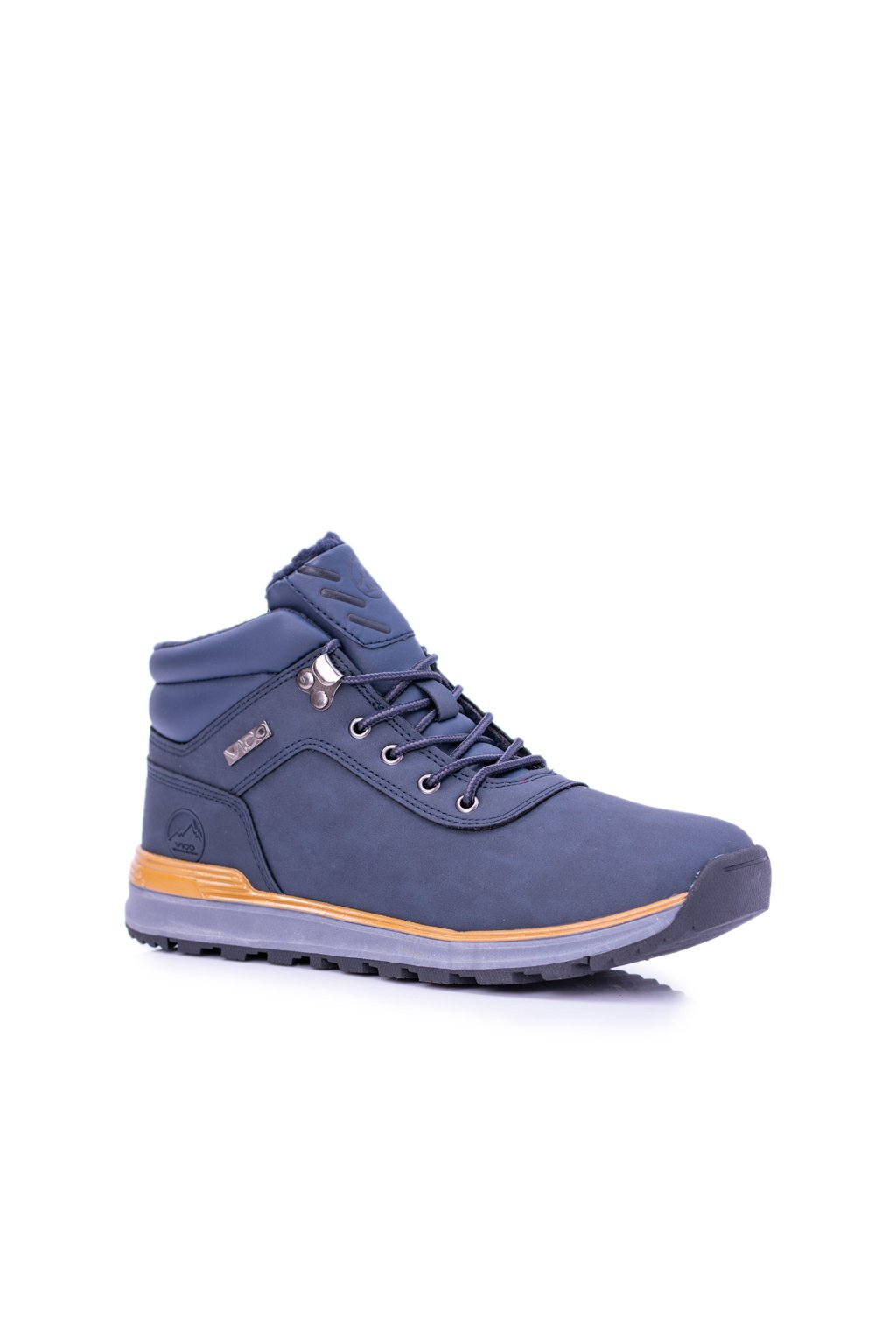 Tmavo modré pánske trekové topánky Preventi